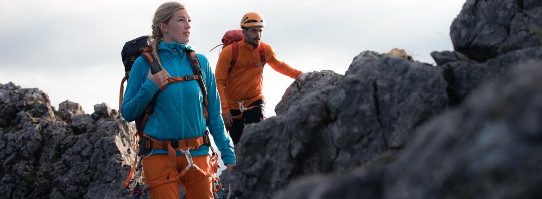 Klettersteig Bergsportausrüstung