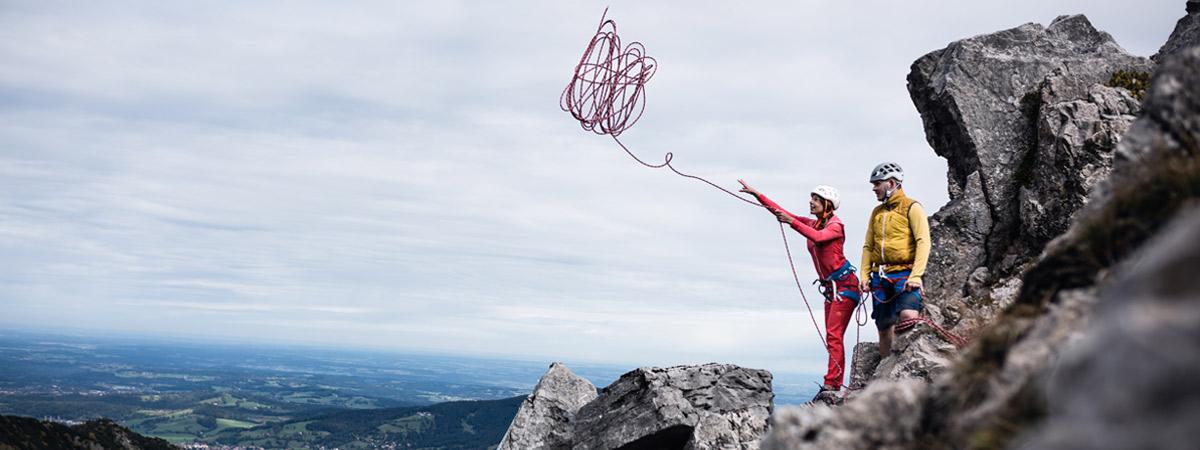 Seile, Schlingen und Reepschnüre Bergsportausrüstung